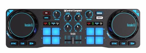 controlador dj hercules compact dos canales flete local $2