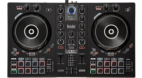 controlador dj hercules djcontrol inpulse 300 + envio gratis