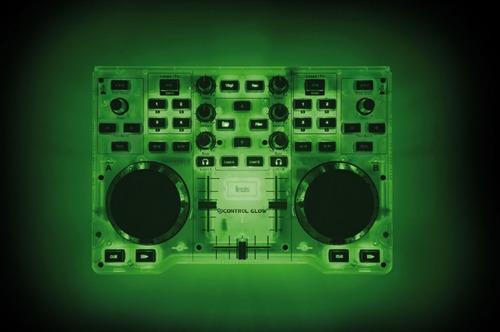 controlador dj hercules glow consola mixer dj audio mp3