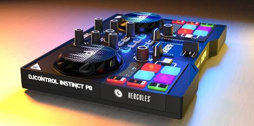 controlador dj hercules instinct p8