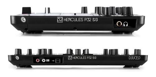 controlador dj hercules p32 dj + envio gratis