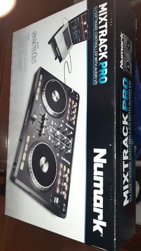 controlador dj mixtrack numark pro