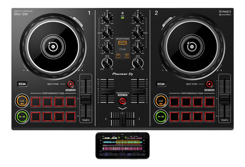 controlador dj pioneer ddj 200 pc mac android ipad new 2019