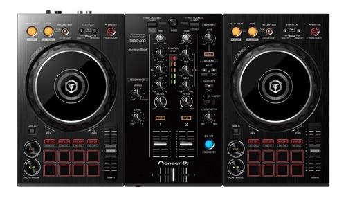 controlador dj pioneer dj ddj-400 - negro