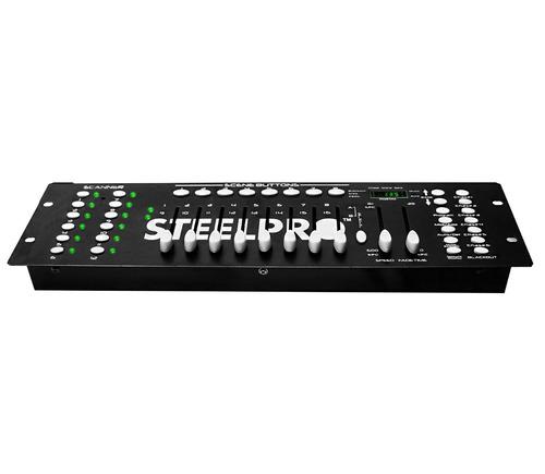 controlador dmx 240 para luces facil de usar original xaris.