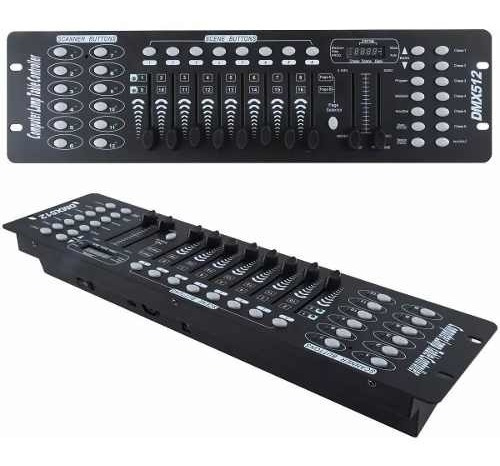 controlador dmx 512 consola