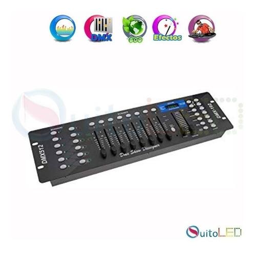 controlador dmx 512 - luces - controlador de iluminación