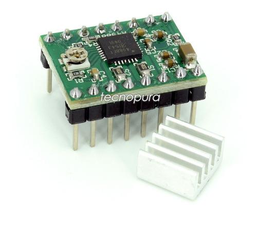 controlador driver motor paso a paso pololu a4988 - 3d ramps
