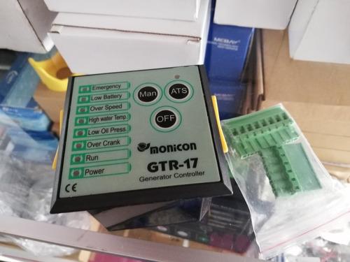 controlador generador gtr-17 auto start automátiza monicon