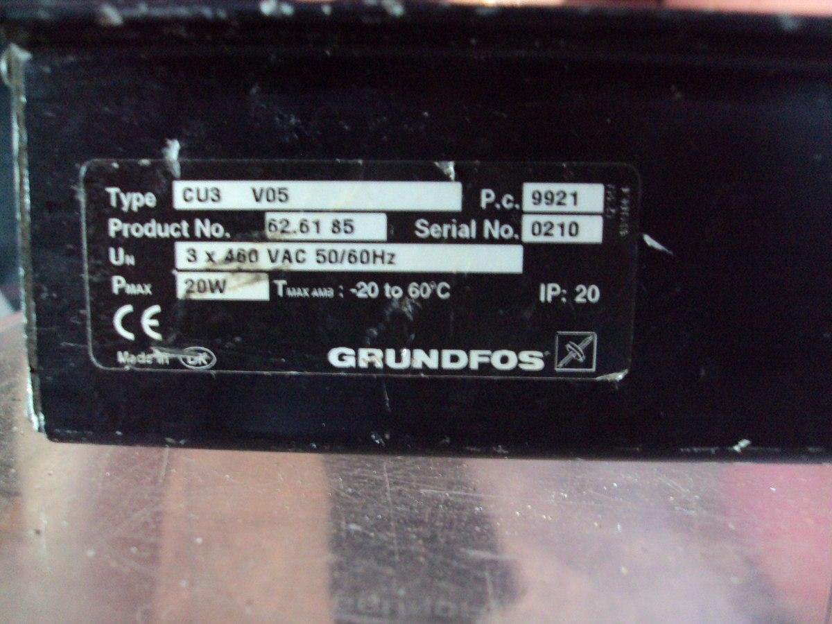 Grundfos Control Unit Cu3 Manual Best User Guides And Manuals Wiring Instructions Controlador V05 No Estado R 150 00 Rh Produto Mercadolivre Com Br