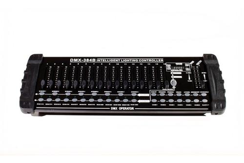 controlador iluminacion dmx-384b, 32 canales / electroworld