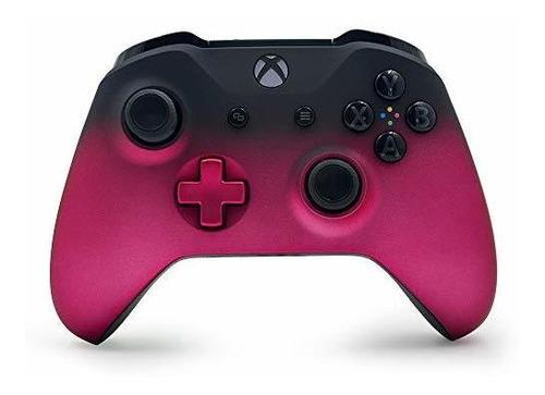controlador inalámbrico personalizado deep pink shadow para