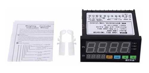controlador indicador de pesagem digital p/ célula de carga