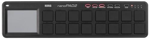 controlador korg nano pad 2 negro