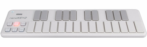 controlador korg nanokey 2 blanco