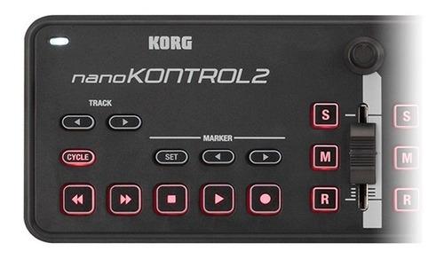 controlador korg nanokontrol 2 superficie control midi promo