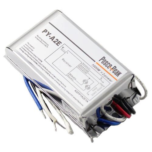 controlador led 1000w 2 do cr interruptor canal rf
