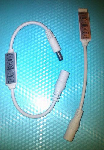 controlador led con conector   12-24v