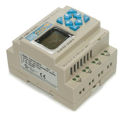 controlador logico weg clw-02 10hr-a 3rd clic02 127/220vca