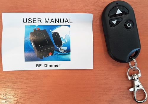 controlador luces led pileta fuente dimmer y control remoto