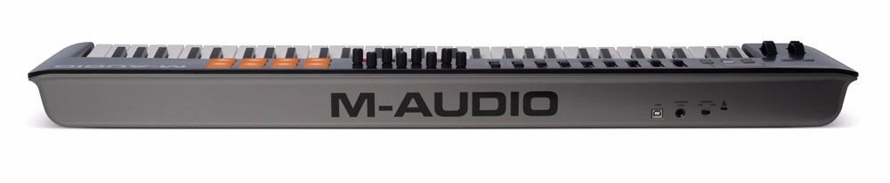 Resultado de imagem para m-audio oxygen 61 Iv