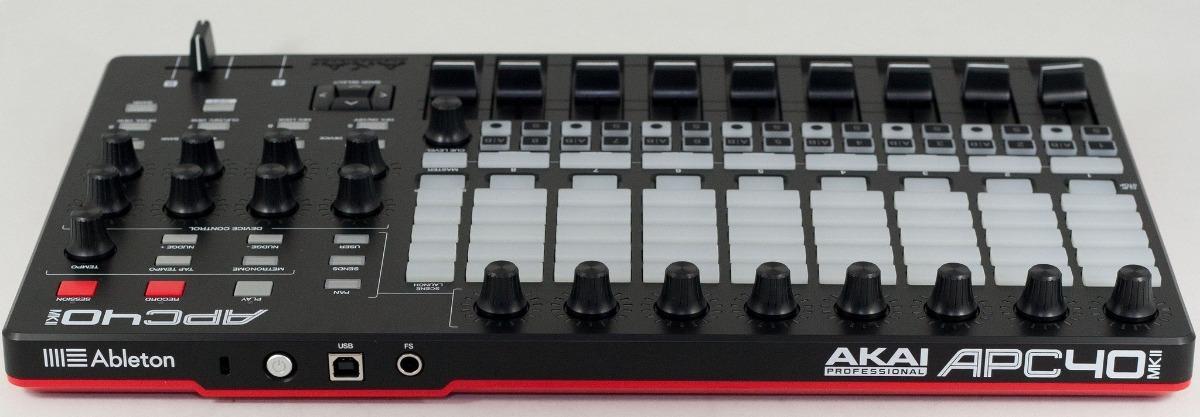 Controlador Midi Akai Apc40 Mk2 Mkii Faders Knobs Pads
