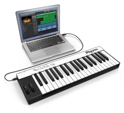 controlador midi de 37 teclas irig keys pro ik multimedia