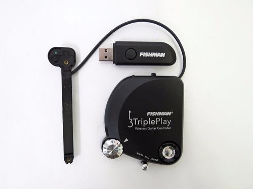 controlador midi inalámbrico para guitarra fishman protrp301