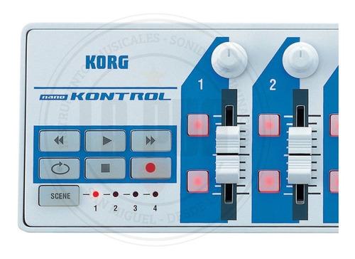 controlador midi korg nano kontrol