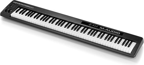 controlador midi m audio keystation 88 usb teclado y piano