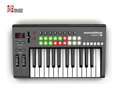 controlador midi novation - launchkey25