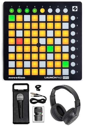 controlador midi novation launchpad mini mk2 + lo de la foto
