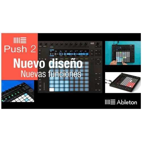controlador midi push 2 + live suite 10 ableton msi04