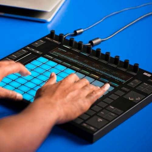 controlador midi push 2 + live suite 9.5 ableton mezcladora