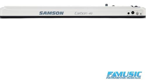 controlador midi samson kc 49 carbon usb