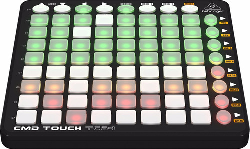 controlador midi tipo launchpad usb behringer cmd touch tc64