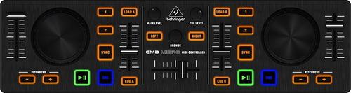 controlador midi usb para dj behringer cmd micro