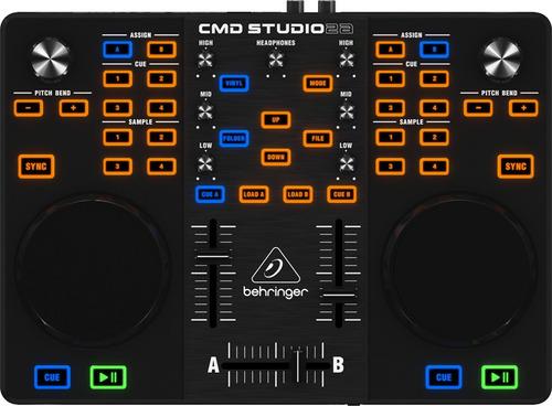 controlador midi usb para dj behringer cmd studio 2a