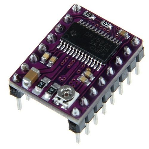 controlador motor paso drv8825 carrier reprap pcb 4 capa