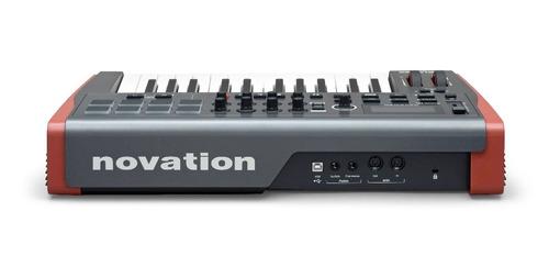controlador novation impulse 25
