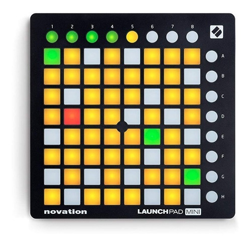 controlador pad novation usb launchpad mini mkii ableton pc