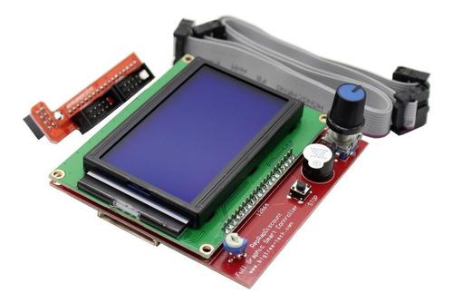 controlador painel para impressora 3d display lcd 12864 ramp
