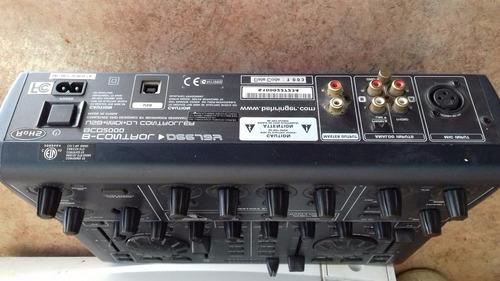 controlador para dj. b-control deejay behringer bcd3000