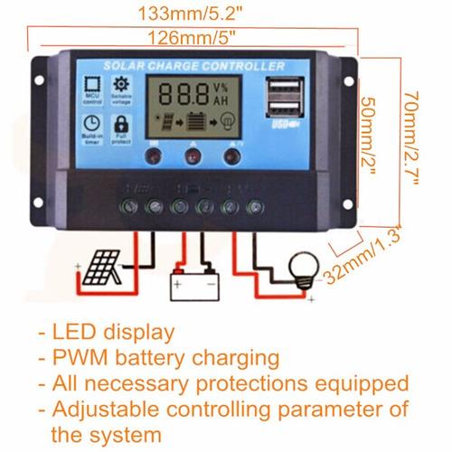 controlador para painel solar