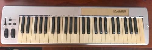 controlador piano m audio 49e