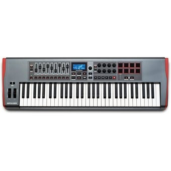 controlador piano novation impulse61