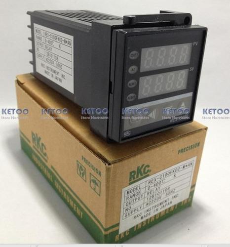 controlador  pid de temperatura rex-c100