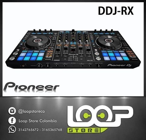 controlador pioneer ddj-rx / dj rekordbox
