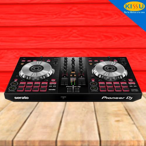 controlador pioneer ddj-sb3 portatil 2 canales serato dj lit