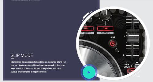 controlador pioneer ddj-sr nuevo garantia
